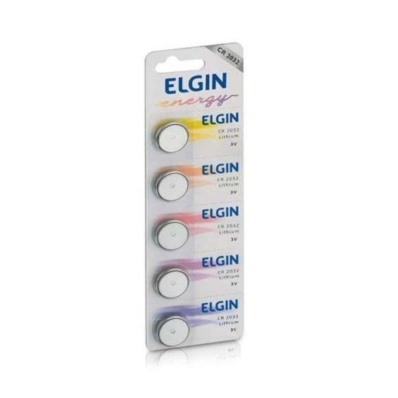 BATERIA CR2032 - 5UN - ELGIN