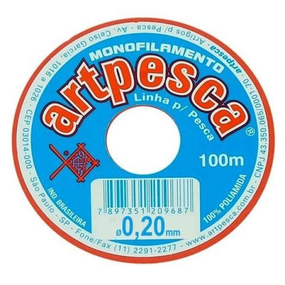 LINHA 0,2MM - 100M - ARTPESCA