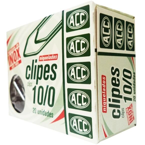 CLIPES NIQUELADOS 10/0 - ACC